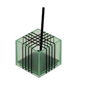 ARLAC Confon-Cube Stifteköcher transparentgrün