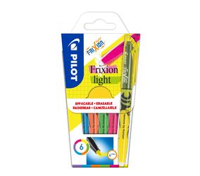 Pilot Marker Frixion Light Neon 6-er Etui