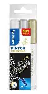 Pintor EF 3er Celebrations (Weiß/Gold/Silber)