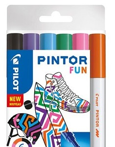 Pintor M 6er Set Fun